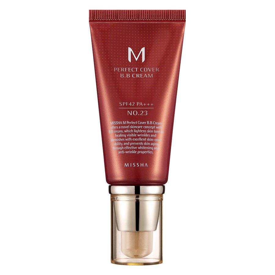 Missha M Perfect Cover BB Cream LSF42/Pa +++, No. 23 Natural Beige (50 ml)