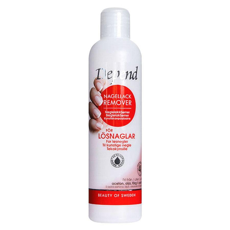Depend Oil Free Polish Remover (250 ml)