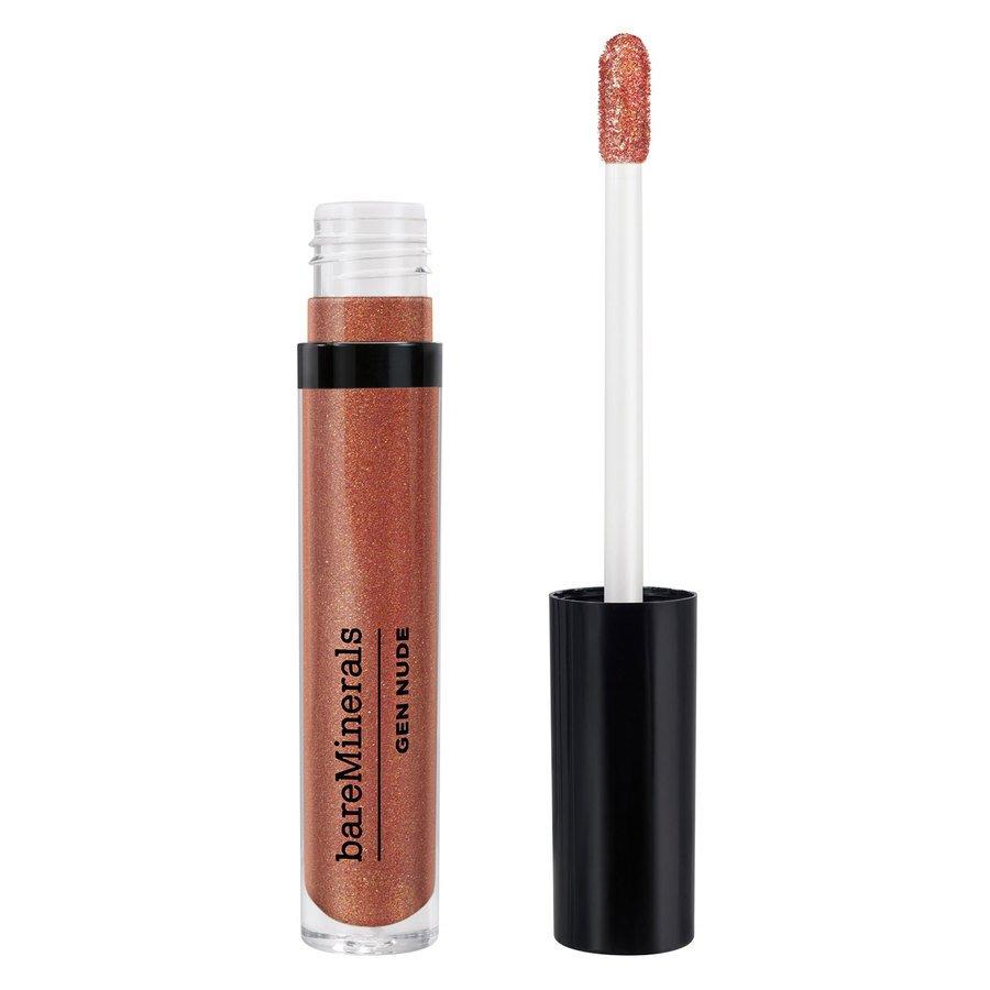 bareMinerals Gen Nude Metallic Patent Lip Lacquer Smoky Topaz