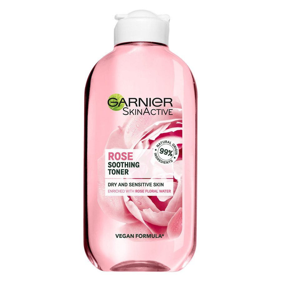 Garnier Naturals Botanical Rose Floral Water Toner (200 ml)