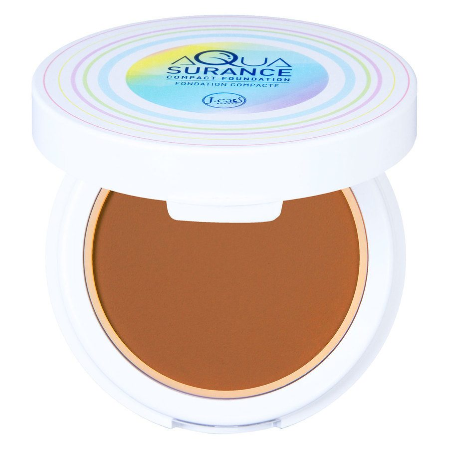 J.Cat Aquasurance Compact Foundation, Caramel 9g