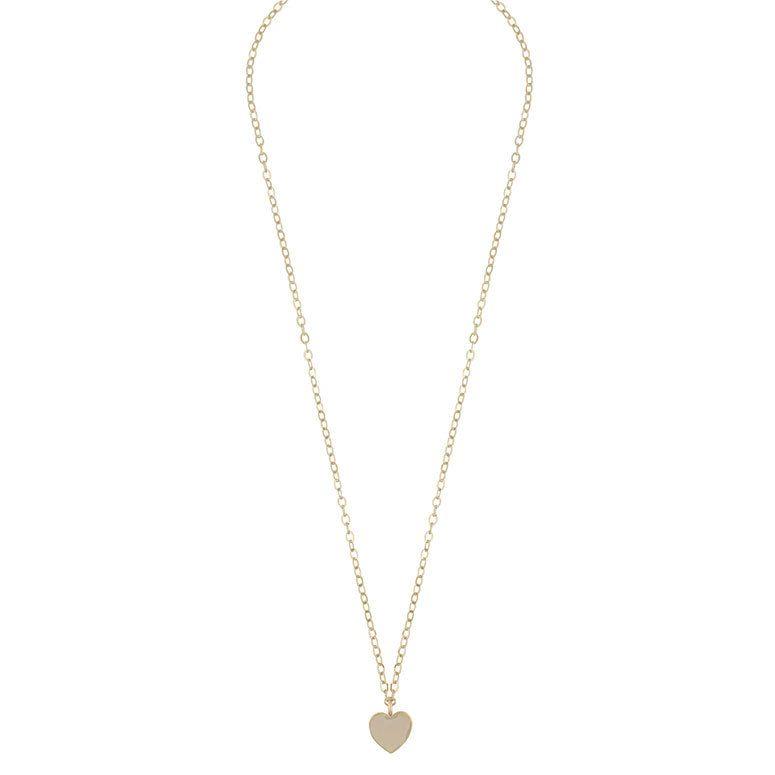 Snö Of Sweden Vital Pendant Necklace, Plain Gold 50 cm