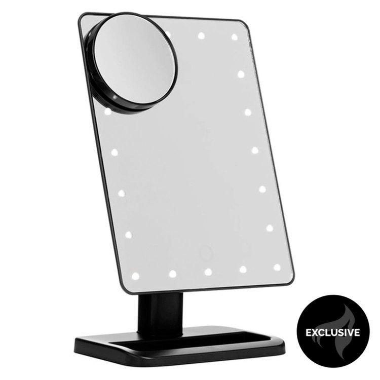 Shelas Schminkspiegel mit LED-Licht