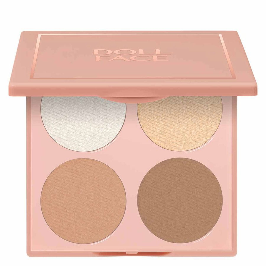 Doll Face Contour Wizard Sculpt & Highlight Palette (10,5 g)