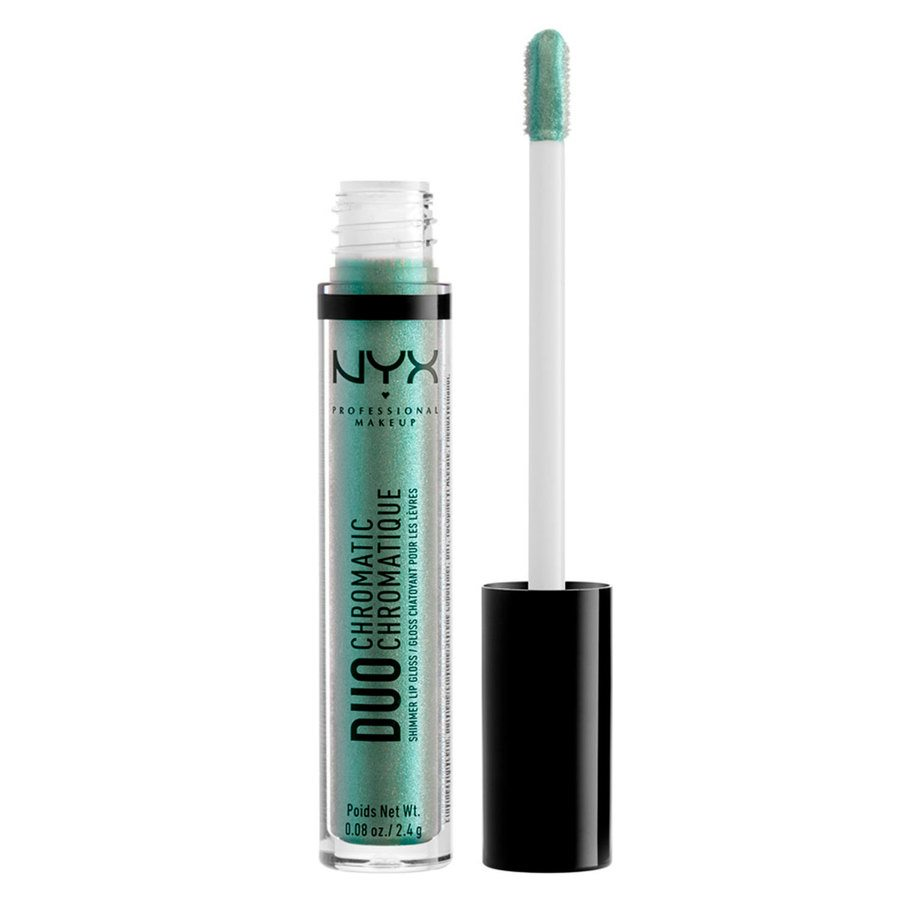 NYX Professional Makeup Duo Chromatic Lip Gloss, Foam Party