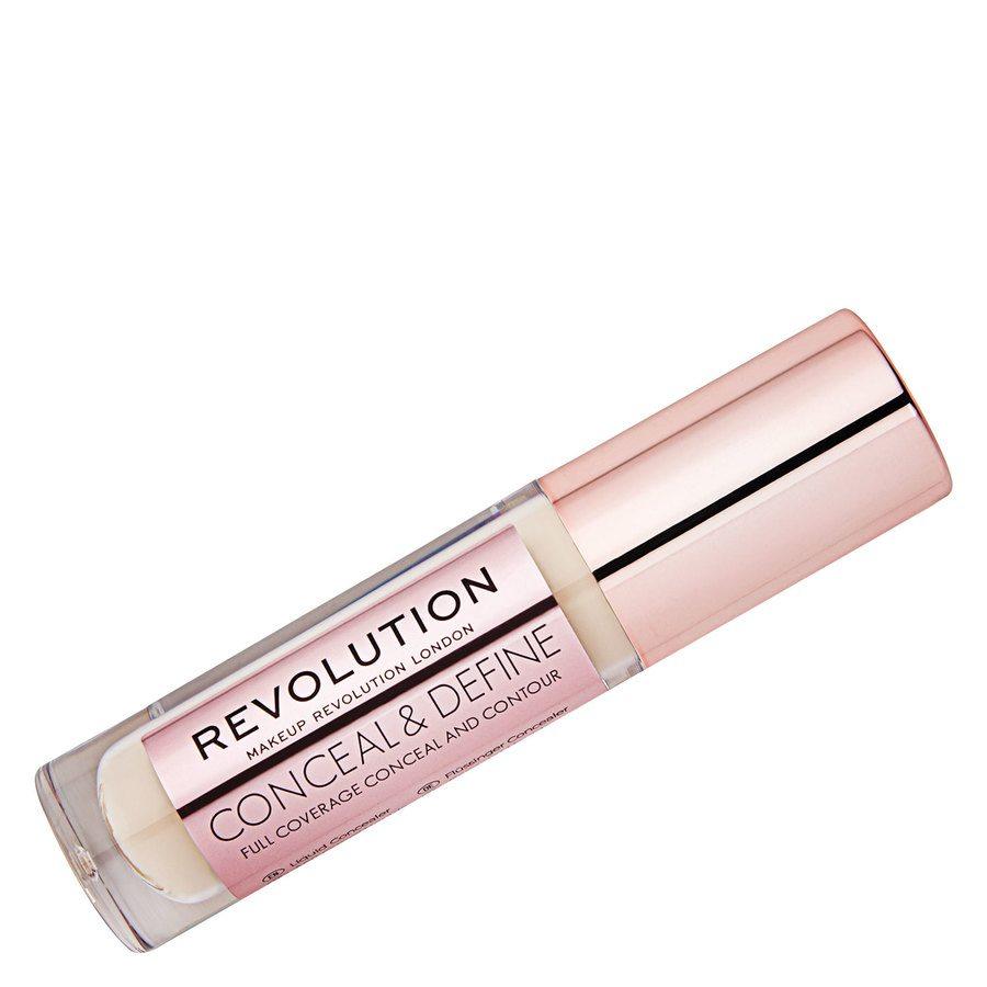 Makeup Revolution Conceal And Define Concealer, C1 4g