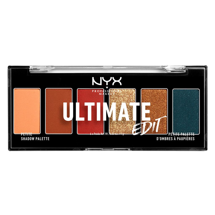 NYX Professional Makeup Ultimate Edit Petite Shadow Palette (6 x 1 g)