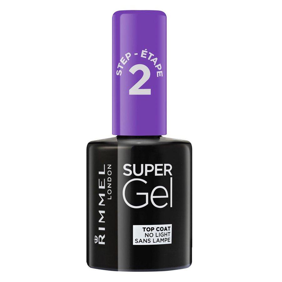 Rimmel London Super Gel Top Coat Transparent (12 ml)