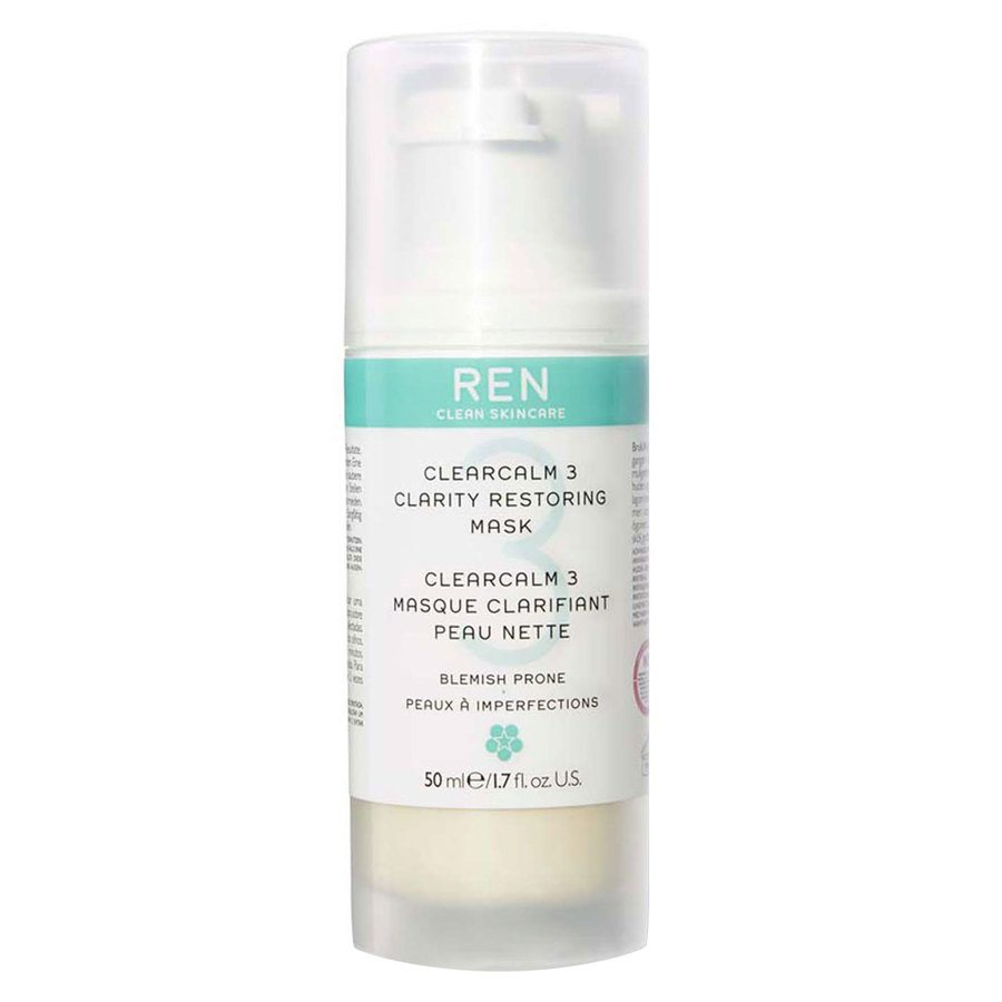 REN Clean Skincare Clearcalm 3 Clarity Restoring Mask (50 ml)
