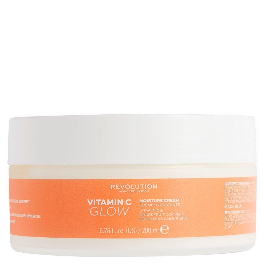 Revolution Body Skincare Vitamin C Moisture Cream 200ml