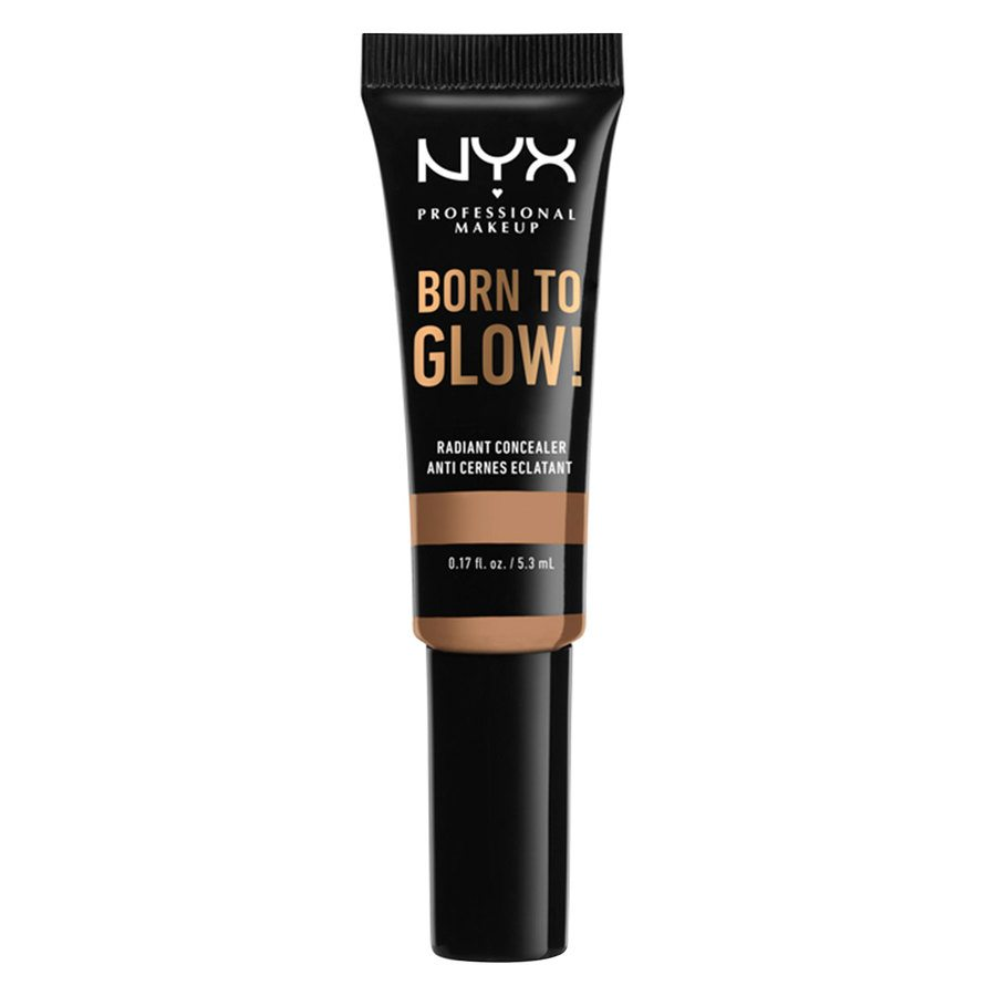 NYX Professional Makeup Born To Glow Radiant Concealer, Neutral Tan (5,3 ml)