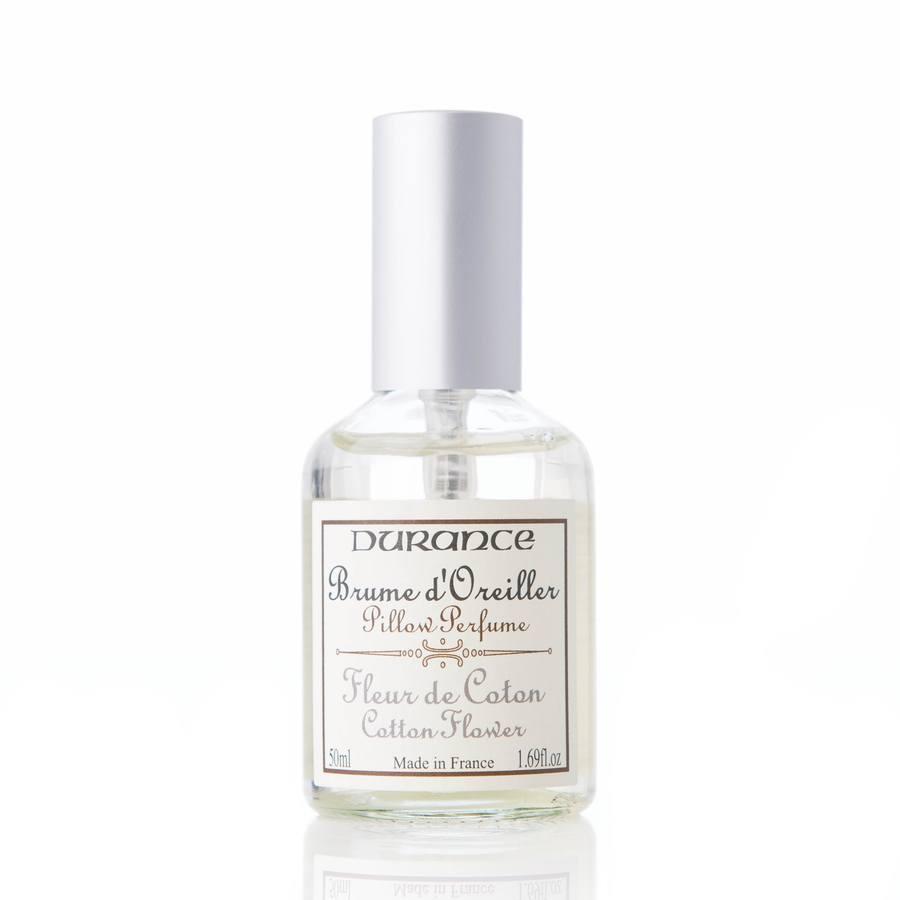 Durance Pillow Perfume, Cotton Flower (50ml)
