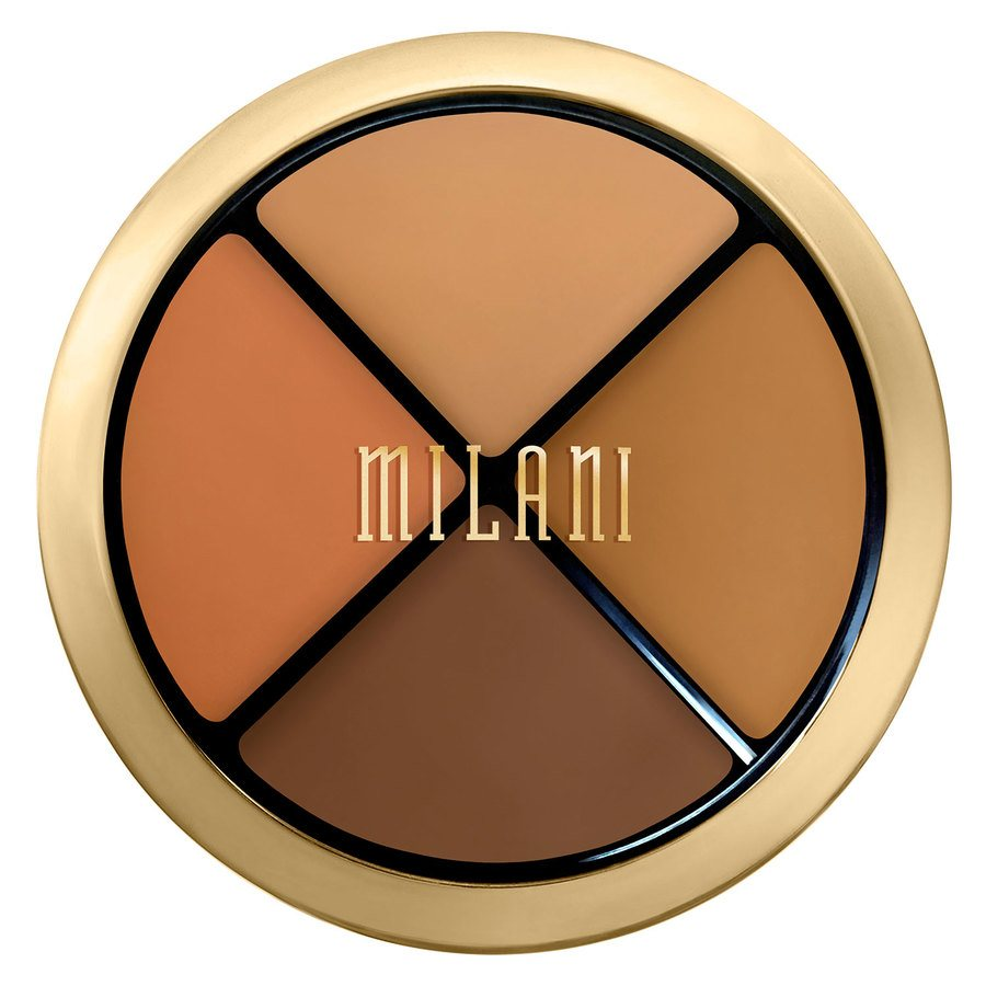Milani Conceal + Perfect All-In-One Concealer Kit, Dark To Deep (7,2 g)