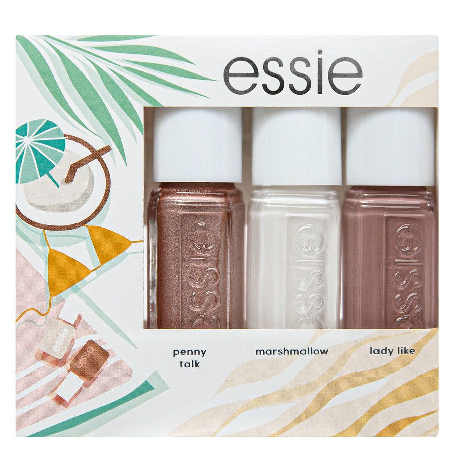 Essie Trio Mini Summer Kit, # 3 (3 x 5 ml)