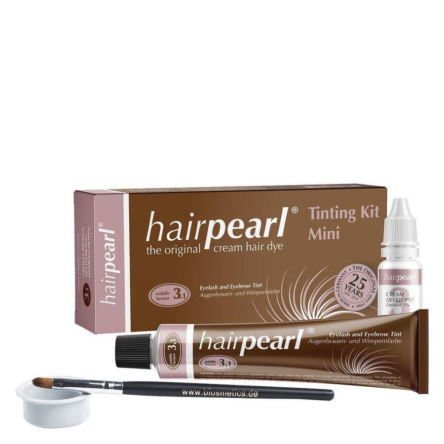 Hairpearl Tinting Kit, Middle Brown