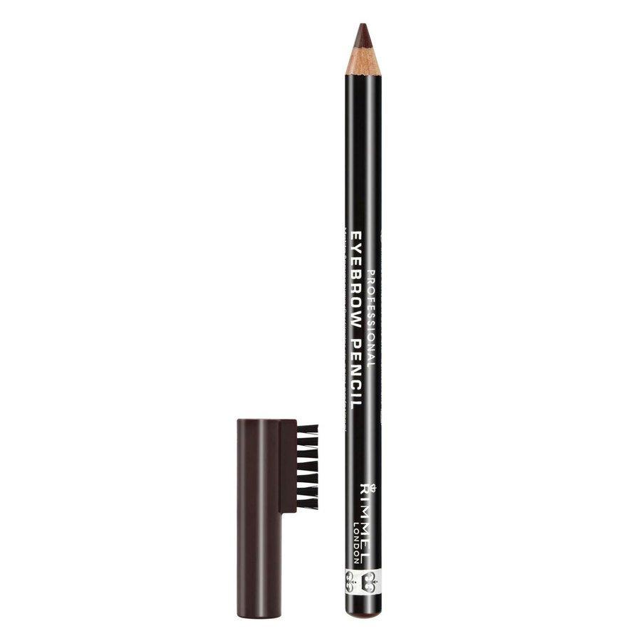 Rimmel London Professional Eyebrow Pencil, # 001 Dark Brown (1,4 g)
