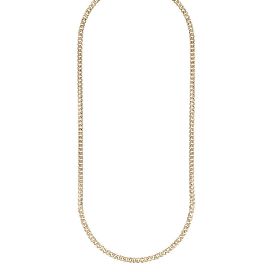 Snö Of Sweden Chase Brad Small Necklace, 60 Plain Gold