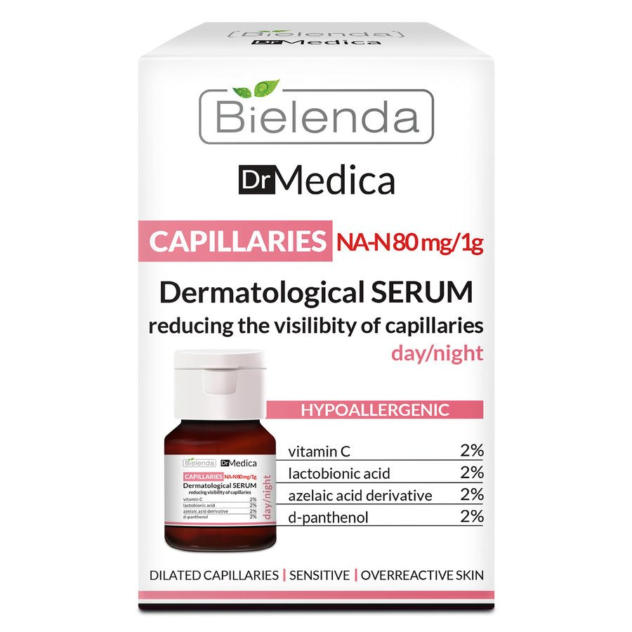 Bielenda Dr Medica Capillary Skin Dermatologic Anti-Redness Face Serum 30 ml