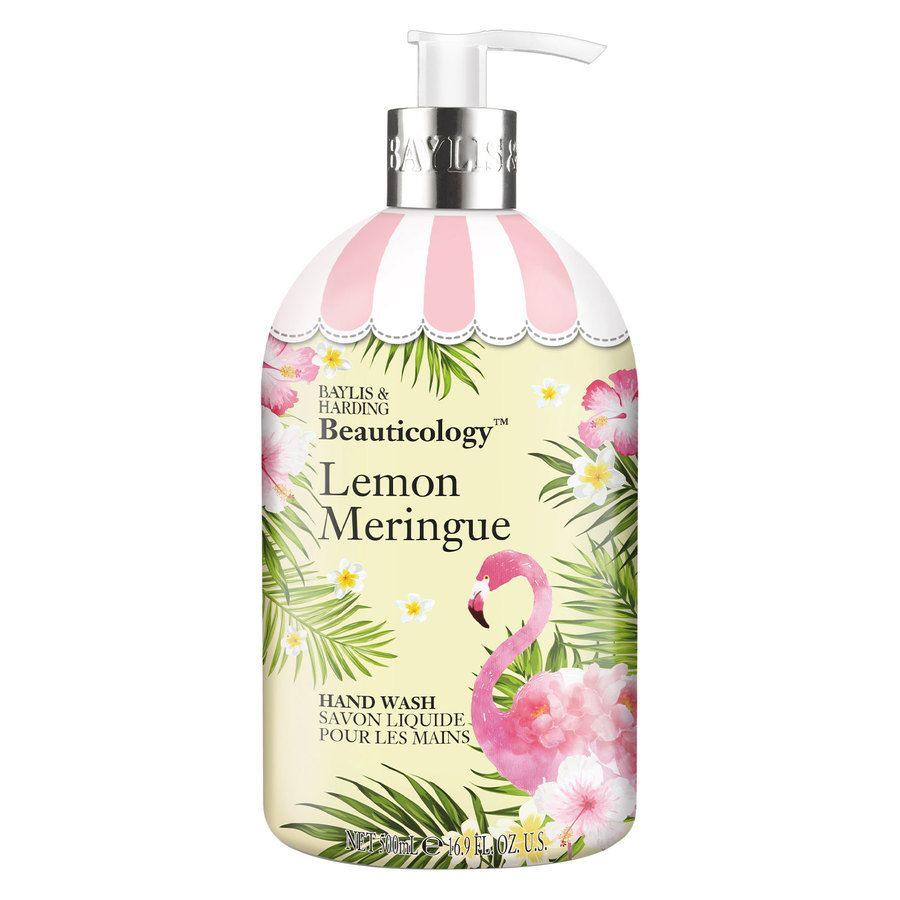 Baylis & Harding Beauticology Hand Wash (500ml), Flamingo Lemon Meringue