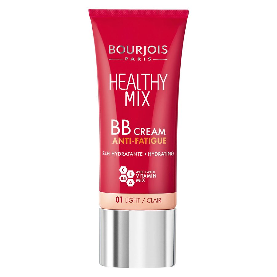 Bourjois Healthy Mix BB Cream Anti Fatigue, 01 Light (30 ml)