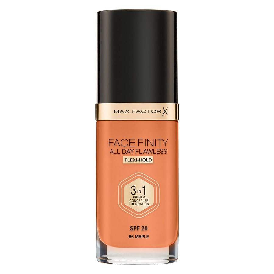Max Factor Facefinity All Day Flawless 3-In-1 Foundation, C86 Maple (30 ml)