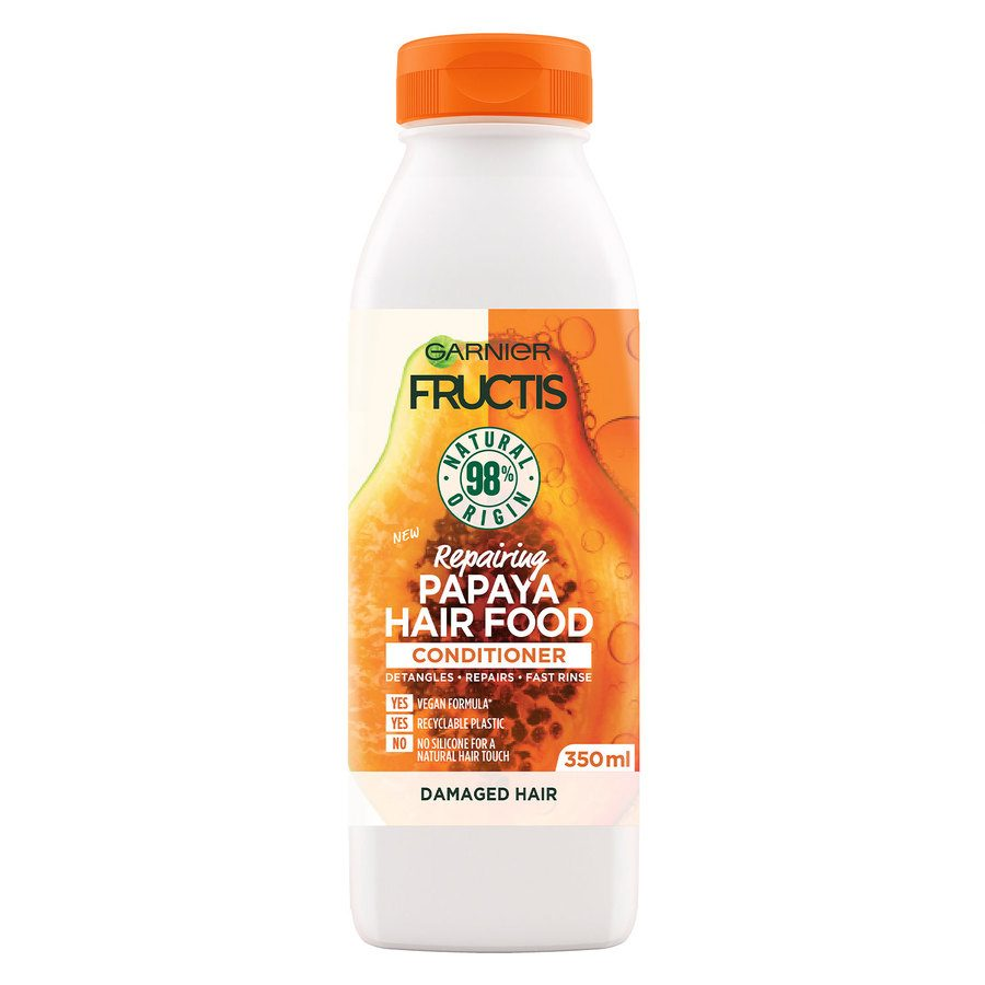 Garnier Fructis Hair Food Conditioner, Papaya 350 ml