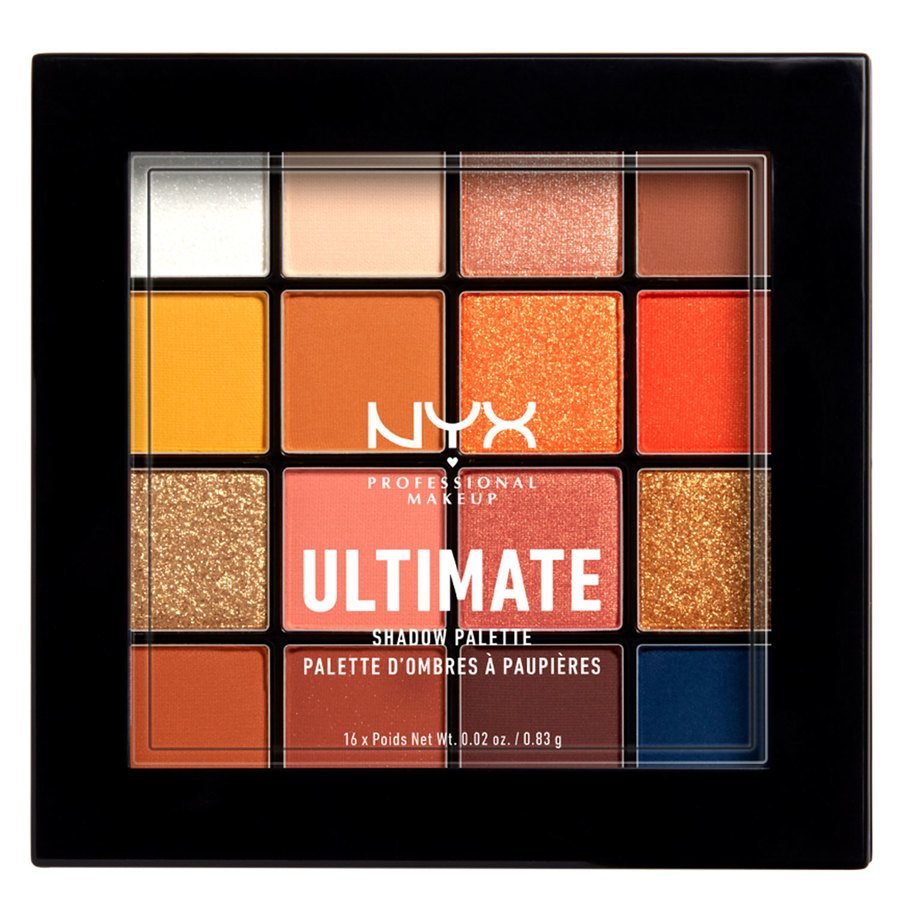 NYX Professional Makeup Ultimate Shadow Palette, Escape Artist (16 x 0,83 g)