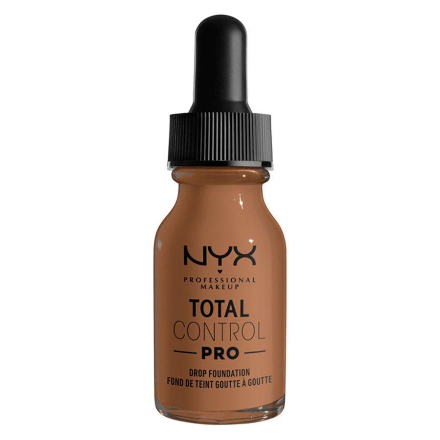 NYX Professional Makeup Total Control Pro Drop Foundation, Mahogany 13 ml