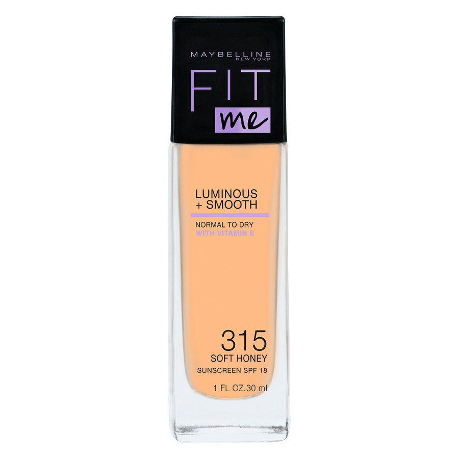 Maybelline Fit Me Liquid Foundation, Soft Honey 315 (30 ml)