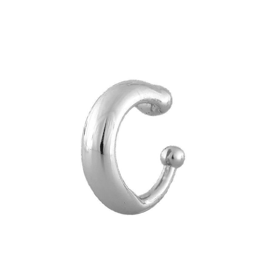 Snö Of Sweden Luire Cuff Earring, Plain Silver 1 Ohrring