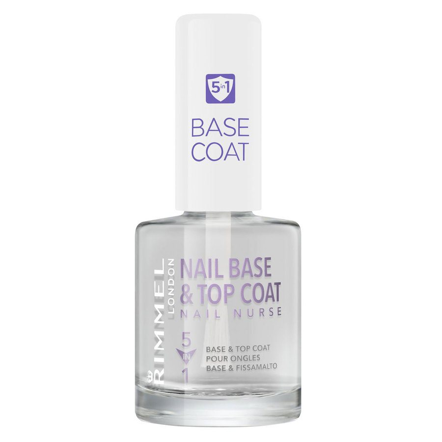 Rimmel London 5In1 Nail Nurse Base And Top Coat (12ml)