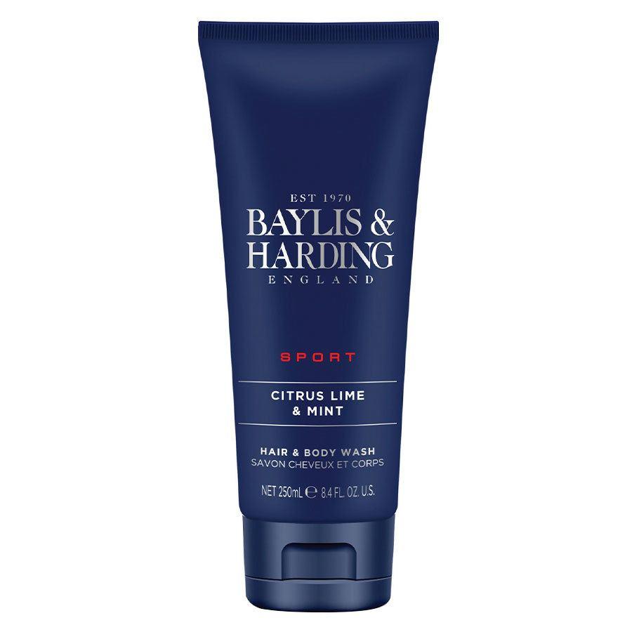 Baylis & Harding Men's Citrus Lime & Mint Hair & Body Wash 250ml
