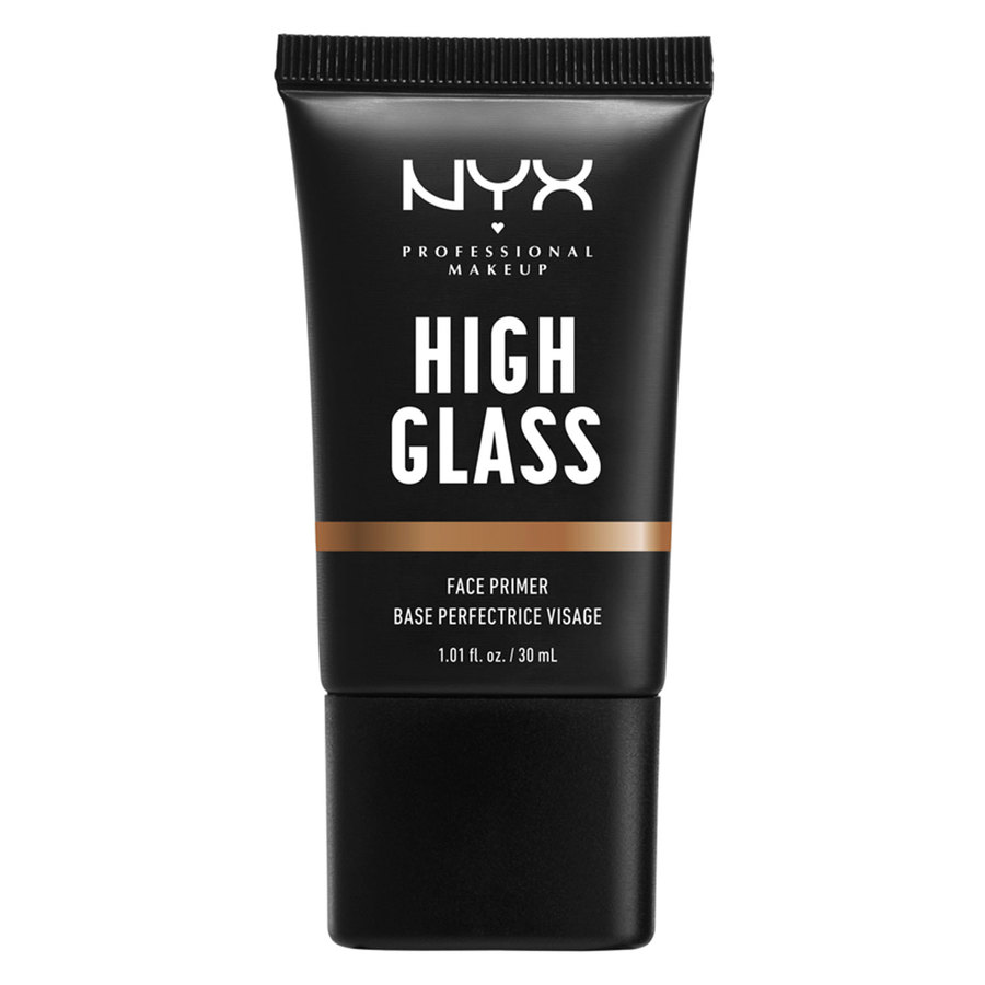 NYX Professional Makeup High Glass Face Primer, Sandy Glow (30 ml)