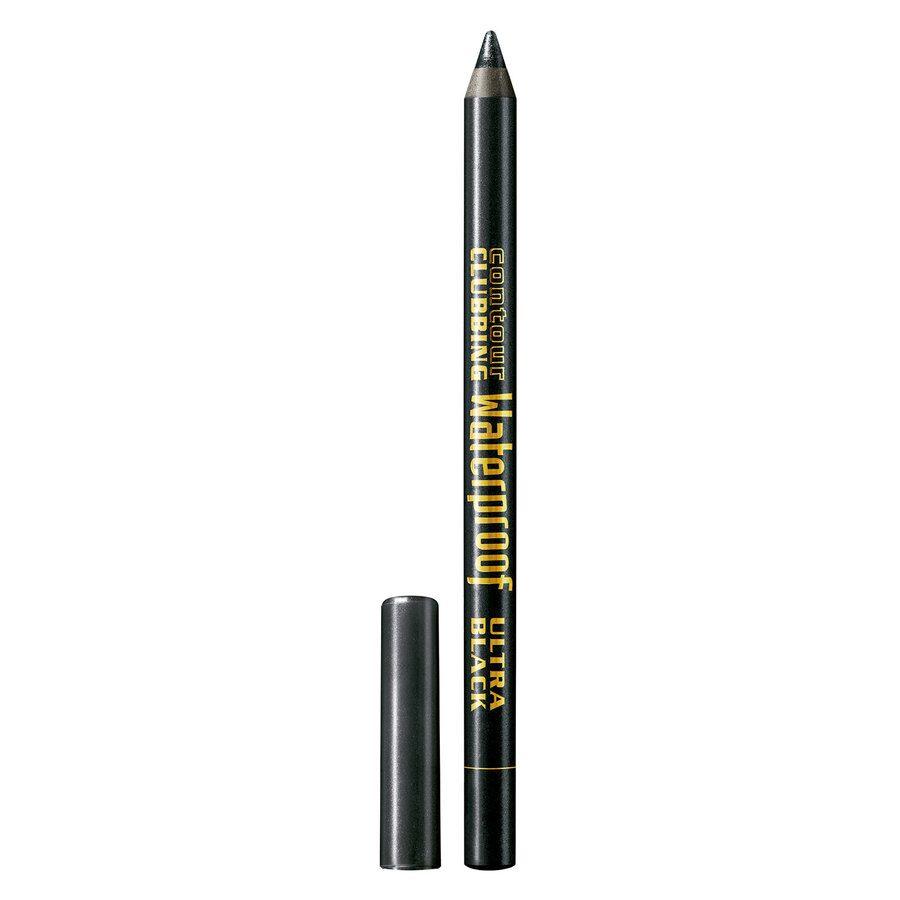 Bourjois Contour Clubbing Waterproof Pencil & Liner, 54 Ultra Black (1,2 g)