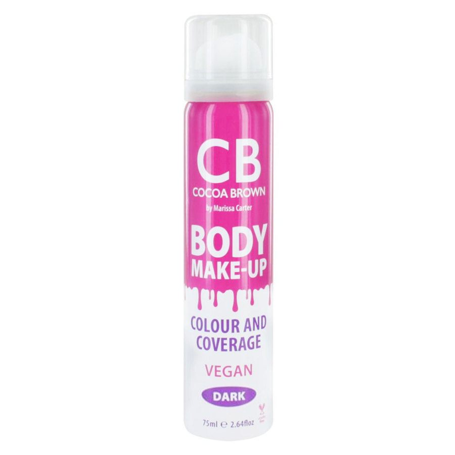 Cocoa Brown Body Make-Up Vegan Color & Coverage, Dark (75 ml)