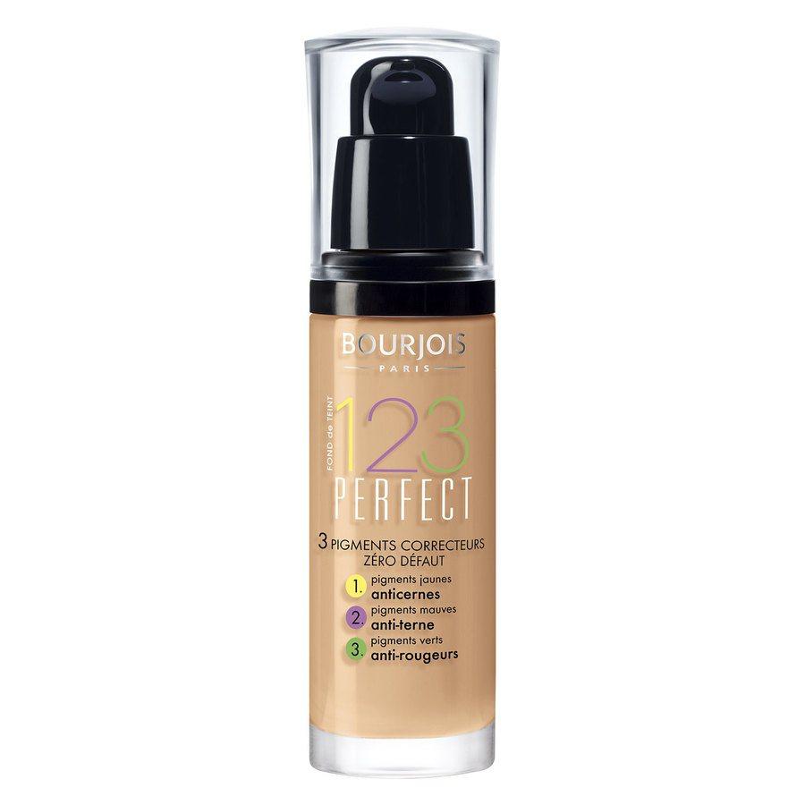 Bourjois 1,2,3 Perfect Foundation, 55 Rose Beige (30 ml)