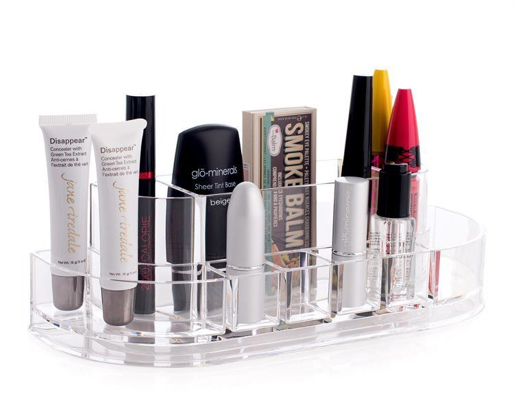 Shelas Acrylic Curve Cosmetic Organiser – Kosmetik-Organizer