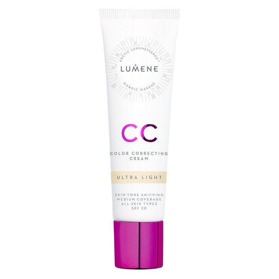 Lumene Color Correcting Cream, Ultra Light SPF20