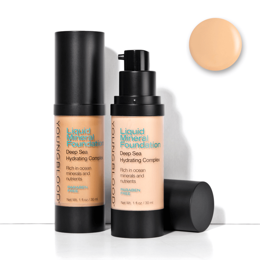 Youngblood Liquid Mineral Foundation (30 ml), Sand