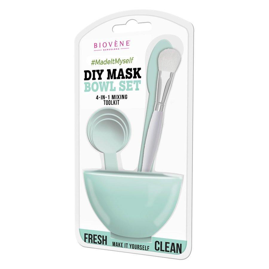 Biovène DIY Mask Bowl Set 4-in-1, Green