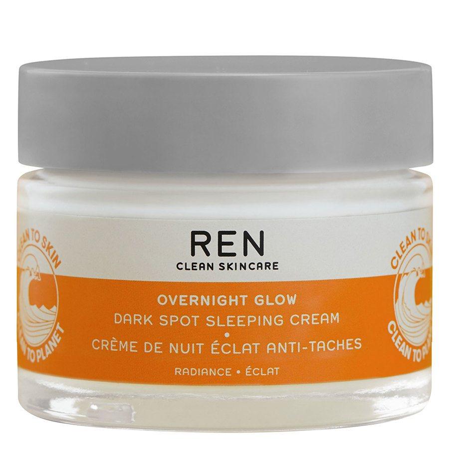 REN Clean Overnight Glow Dark Spot Sleeping Cream (50ml)