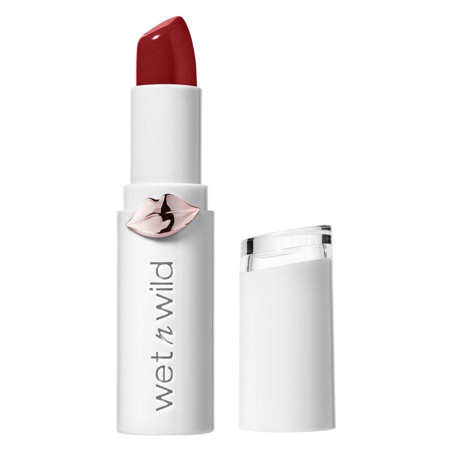 Wet'n Wild MegaLast Lipstick, Crimson Crime (Shine Finish)