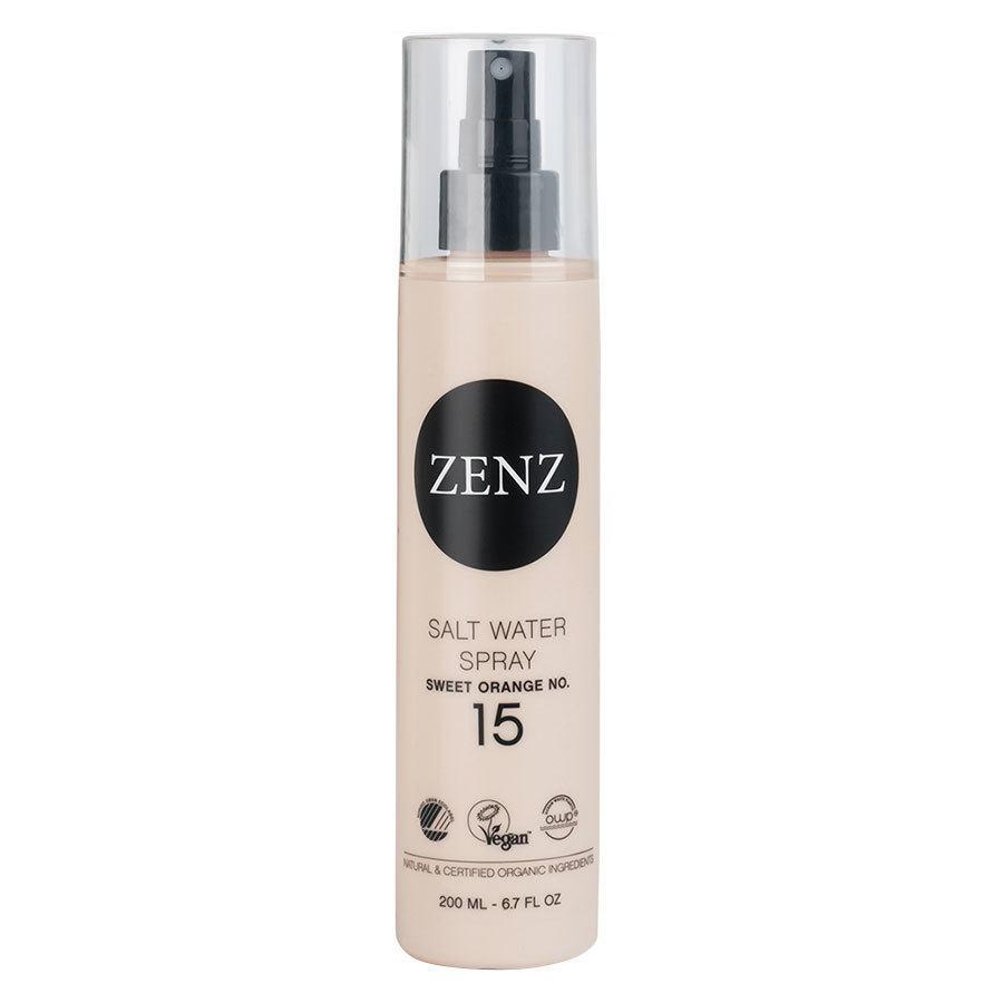 Zenz Organic No. 15 Salt Water Spray Sweet Orange, Medium Hold (200 ml)