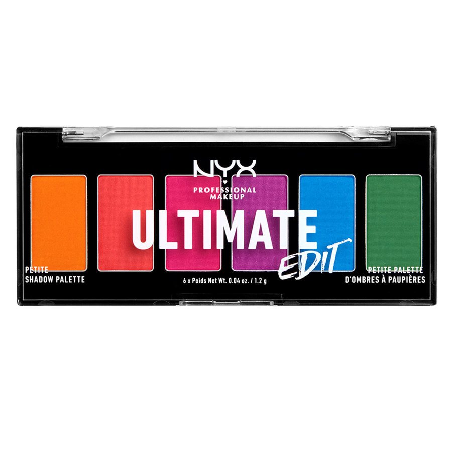 NYX Professional Makeup Ultimate Edit Petite Shadow Palette 7,2g, 02 Brights