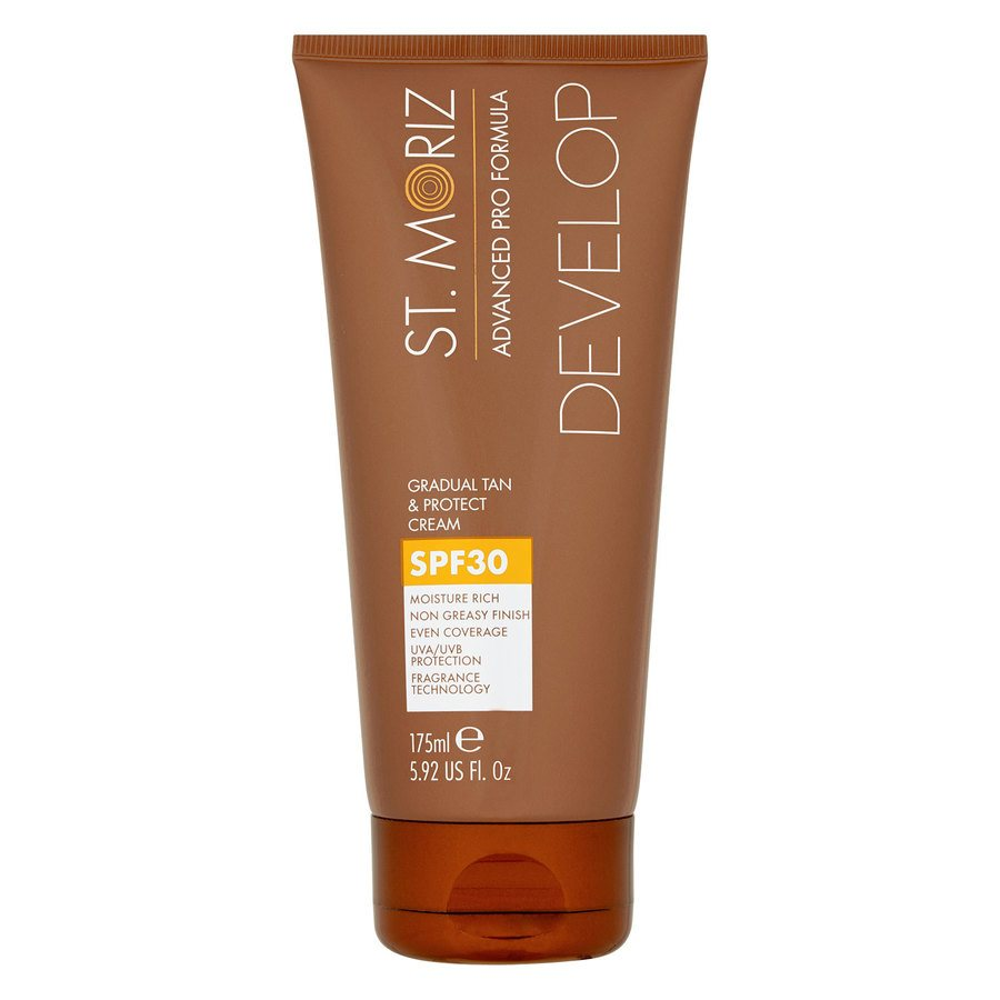 St. Moriz Advanced Pro Formula Develop Graudal Tan & Protect Cream SPF30 (175 ml)