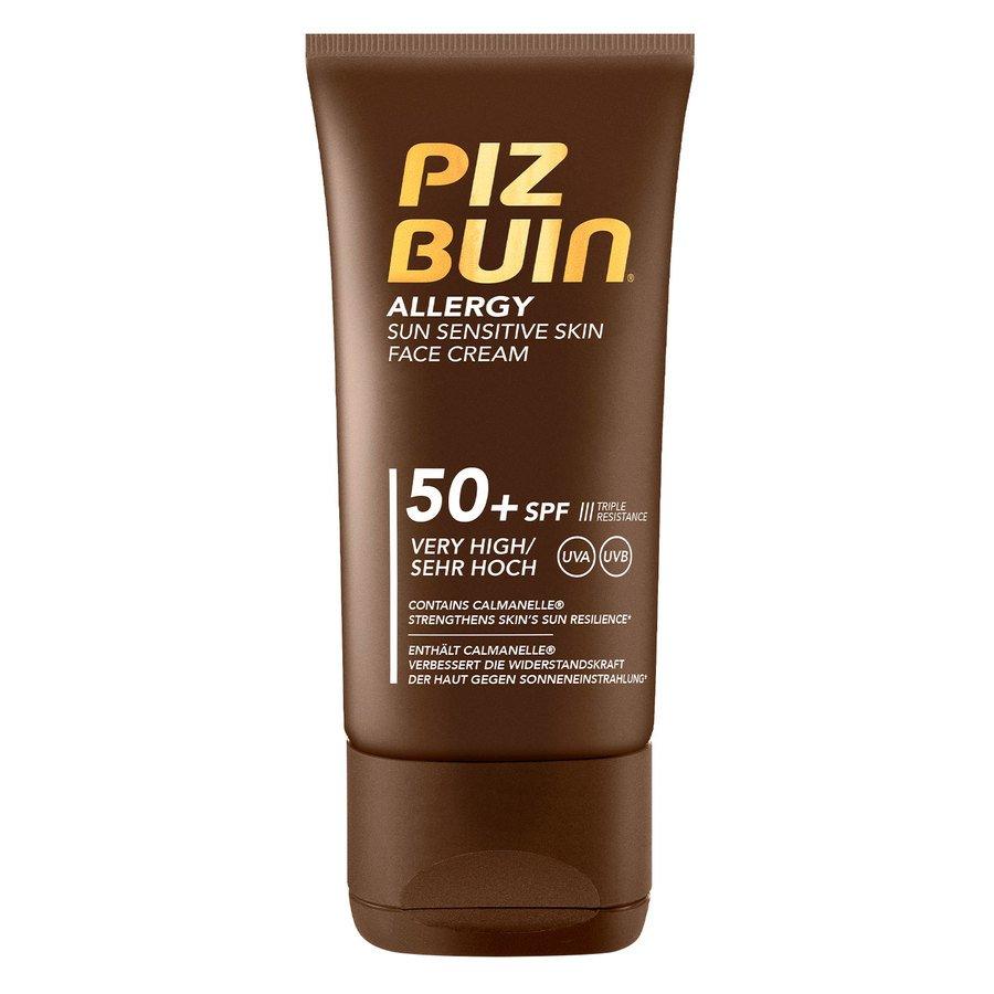 Piz Buin Allergy Sun Sensitive Skin Face Cream SPF50 (50 ml)