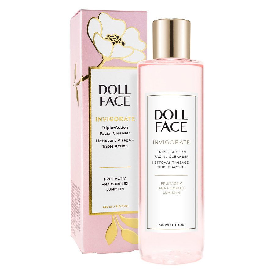 Doll Face Invigorate Triple-Action Facial Cleanser (240 ml)