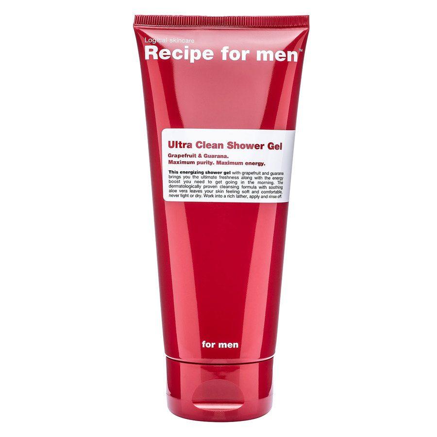 Recipe For Men Ultra Clean Shower Gel (200 ml)
