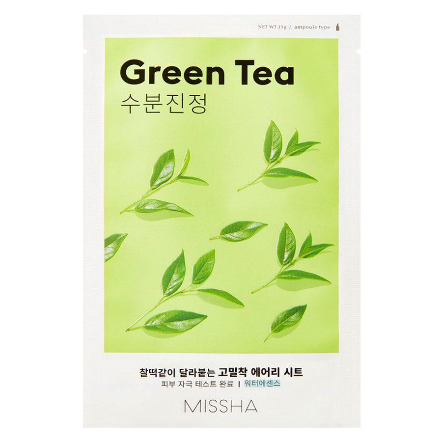 Missha Airy Fit Sheet Mask, Green Tea (19g)