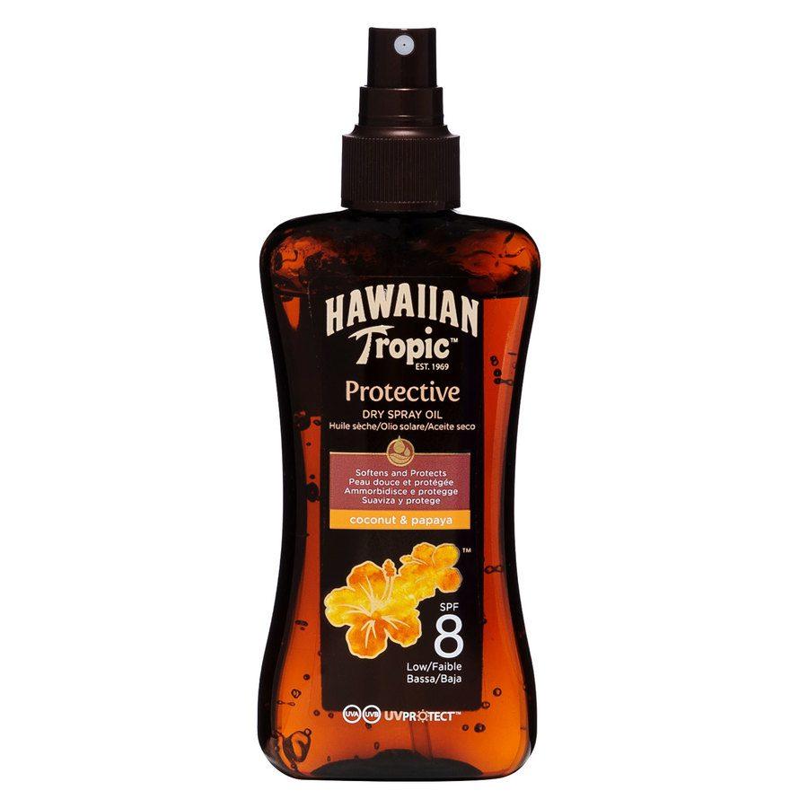 Hawaiian Tropic Protective Dry Oil Spray LSF8 (200 ml)